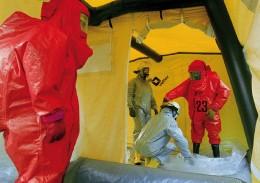 ABC-Schutzmaßnahmen nach Werks- und Reaktorunfällen