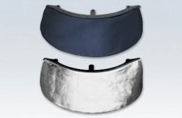 Nackenschutz NPH1 und NPH2 Silver Pro und Classic Nackenschutz wahlweise aluminisiert oder aus Leder. Kann über das Halteband an der Innenausstattung befestigt werden. Passend für die Helmmodelle F130 (NPH1) und F220 (NPH2). Nach EN 443:2008 zugelassen.