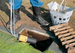 Schutz von Kanalisation und Grundwasser vor Gefahrstoffen