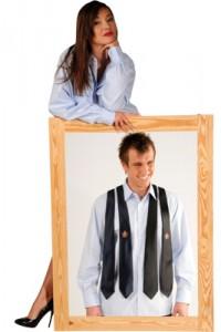 Hemd-Krawatten