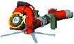 LMP 80 mit Sicherheitsabschalter Eingang: 2x Guillemin DN 100