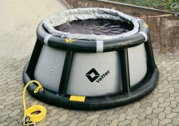 Bis zu 5.000 Liter Flüssigkeit auffangen