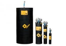 Mit Vetter Bypasskissen stauen Sie gefährliche Flüssigkeiten und Gase auf und leiten sie über einen Feuerwehrschlauch kontrolliert ab.