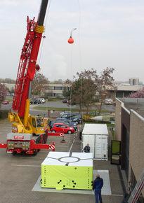 Unsere Sprungkissen wurden durch ein unabhängiges Institut in Berlin nach der DIN 14151 T 1 und T 3 bzw. in Anlehnung an diese zugelassen.
