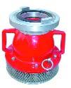 A-Saugkorb mit Schnellkupplungsgriffen