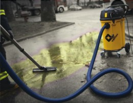 Chemikalienbeständig. Mit widerstandsfähigem GFK für alle Flüssigkeiten gerüstet!