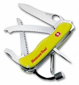 Victorinox Rettungsmesser RescueTool One Hand inkl. Gürteltasche